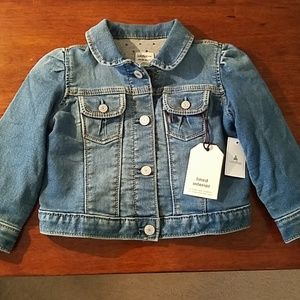 Baby Gap Lined Jean Jacket